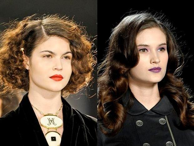 Fryzury Dla Ciemnych Włosów Na Jesień 2012