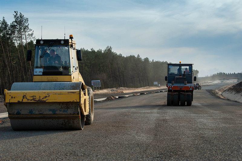 Budowa dróg GDDKiA - zdjęcie ilustracyjne