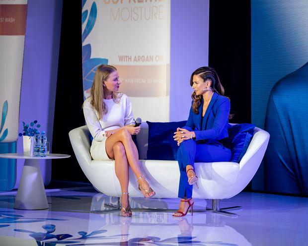 Ania Lewandowska na konferencji Head&Shoulders