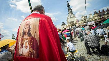 Częstochowa, 1 lipca 2015 r. Pielgrzymka Rodziny Radia Maryja na Jasną Górę