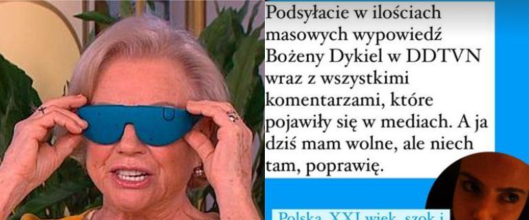 """Psycholożka miażdży występ Dykiel w """"DDTVN"""" w """"antydepresyjnych"""" okularach"""