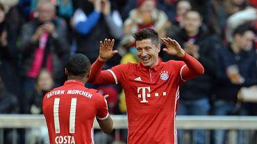 Mecz Pucharu Niemiec Bayern - Schalke 04.