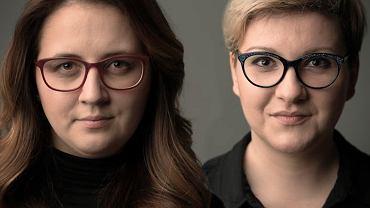 'Szkoda czasu na złe seriale', podcast tokfm.pl. Na zdjęciu autorki podcastu, od lewej: Zuzanna Piechowicz i Anna Piekutowska