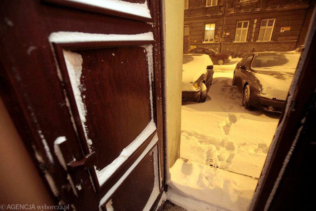 Atak zimy na Łazarzu