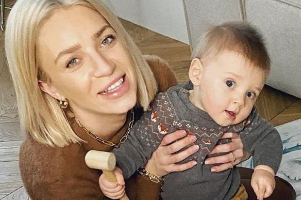 Martyna Gliwińska pochwaliła się zdjęciem małego Kazika na macie. Przy okazji uchyliła rąbka tajemnicy i pokazała, jak mieszka.