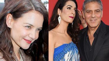 Katie Holmes, Amal Clooney, George Clooney