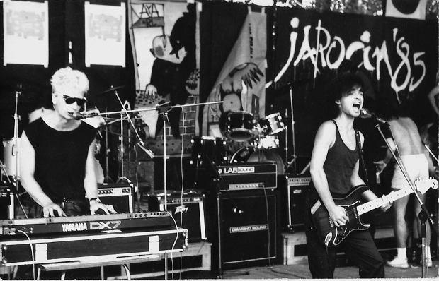 Pierwszy występ pod szyldem Republika zespół dał w 1981 roku (fot. arch. pryw. Anny Sztuczki)