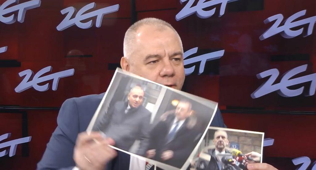 Jacek Sasin ma dowody na 'polityczne intencje' Sławomira Broniarza? Pokazał zdjęcia z Grzegorzem Schetyną