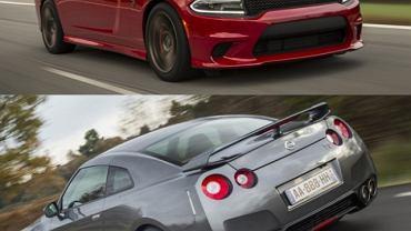 Dodge Charger SRT Hellcat vs. Nissan GT-R