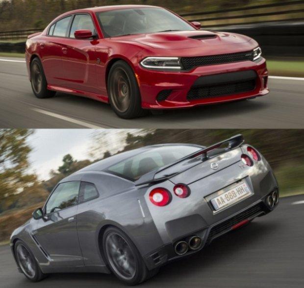 Dodge Charger Hellcat vs Nissan GT-R   Kto szybszy?