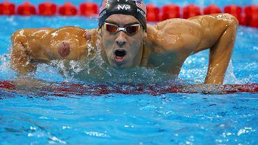 Michael Phelps zdobył swój 23. złoty medal