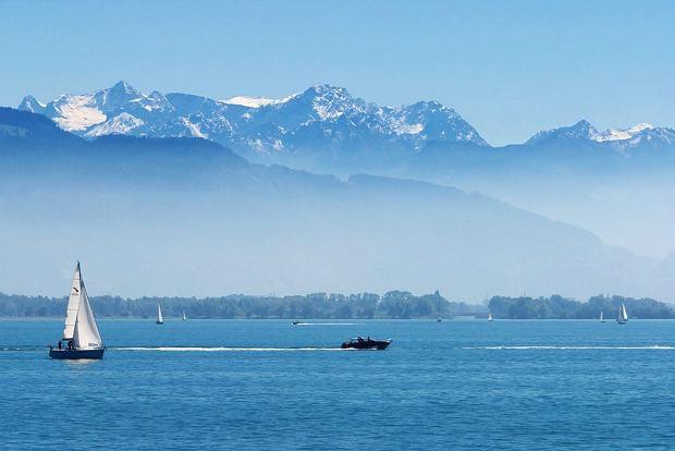 Jezioro Bodeńskie - jedno z najpiękniejszych w Europie