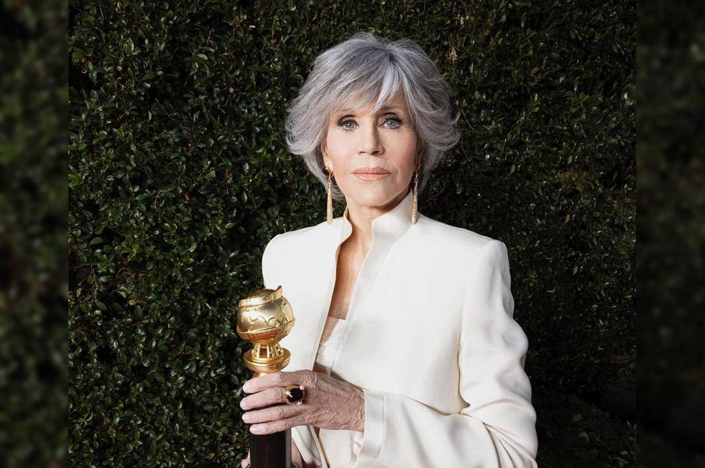 Jane Fonda na Złotych Globach 2021