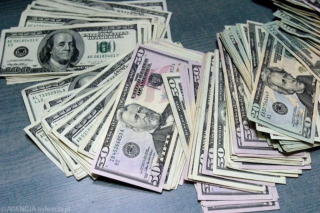 Dolary USA w banknotach