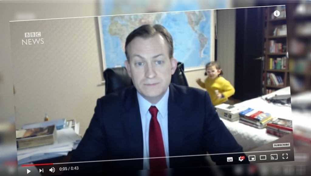 Tata z BBC pokazał, jak wyglądają jego córki teraz