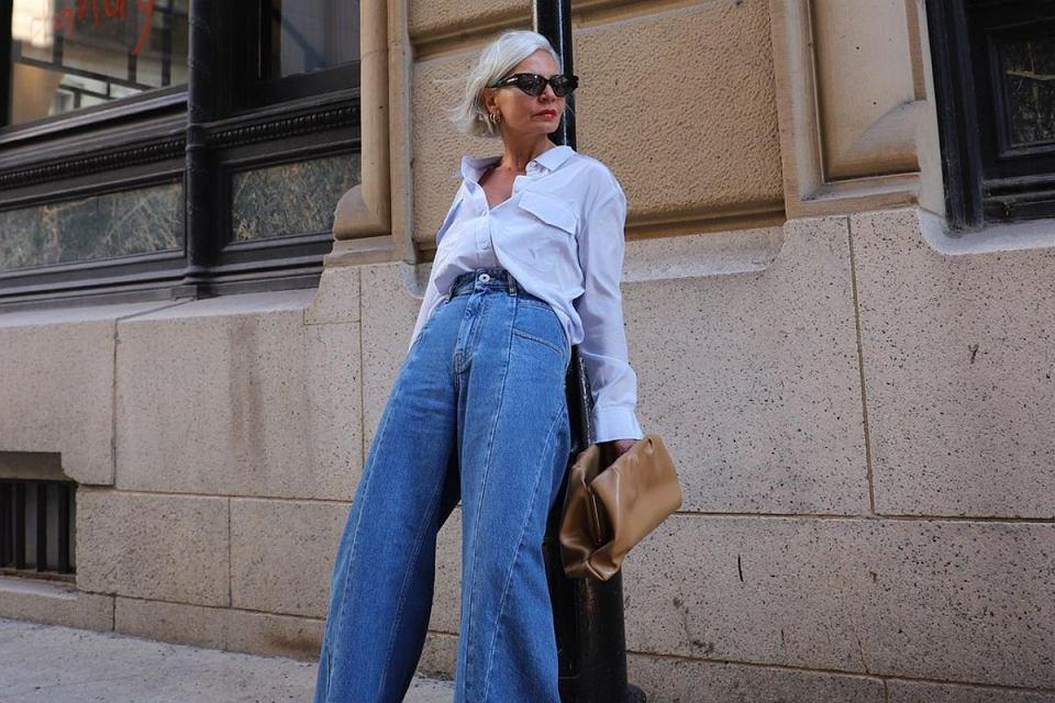 jeansy dla kobiet po 50
