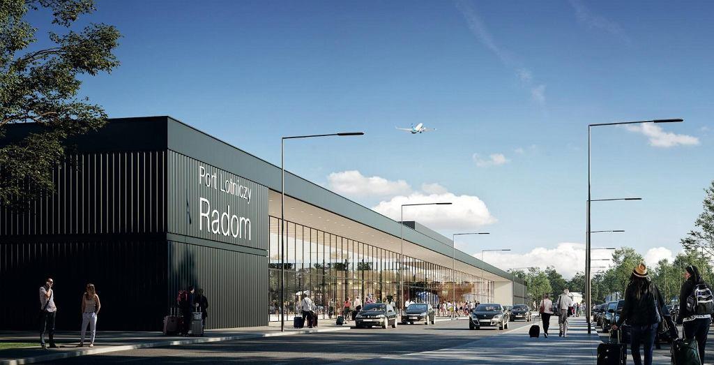 Projekt lotniska Warszawa Radom