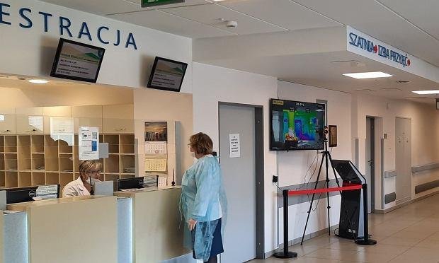 Kamera termowizyjna - użyczona przez Politechnikę Białostocką - stanęła w Białostockim Centrum Onkologii