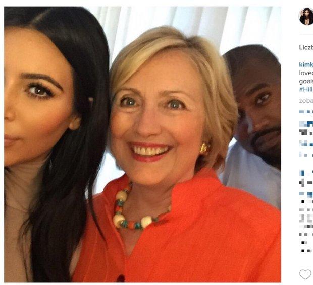 Kim Kardashian, Hilary Clinton, Kanye West