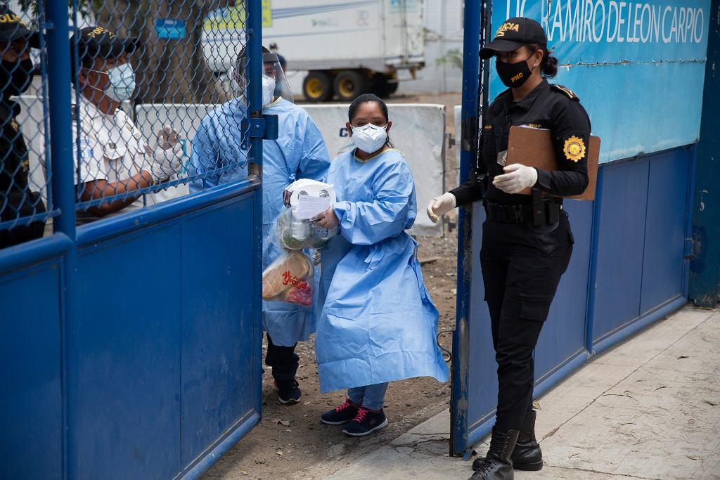 Gwatemala. Schronisko dla deportowanych osób