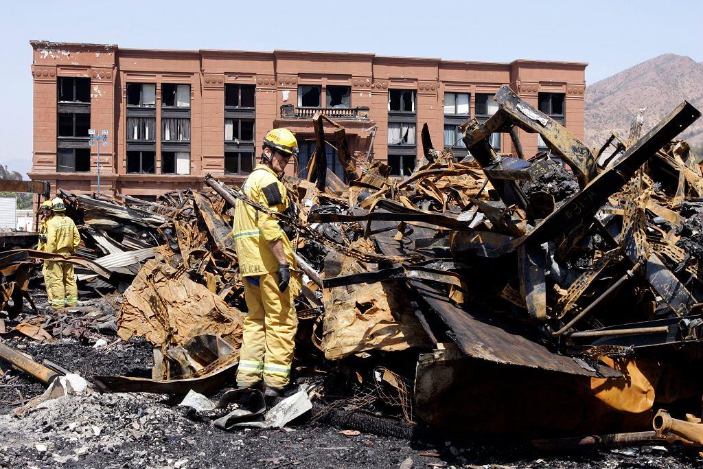 Pożar skarbca studia Universal