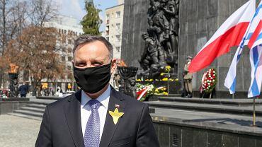 Andrzej Duda w rocznicę powstania w getcie warszawskim