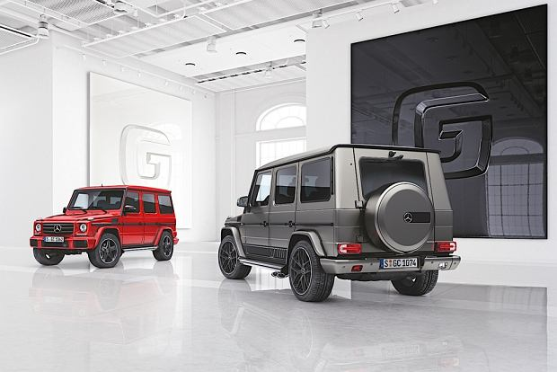 Mercedes klasy G designo manufaktur i Exclusive Edition