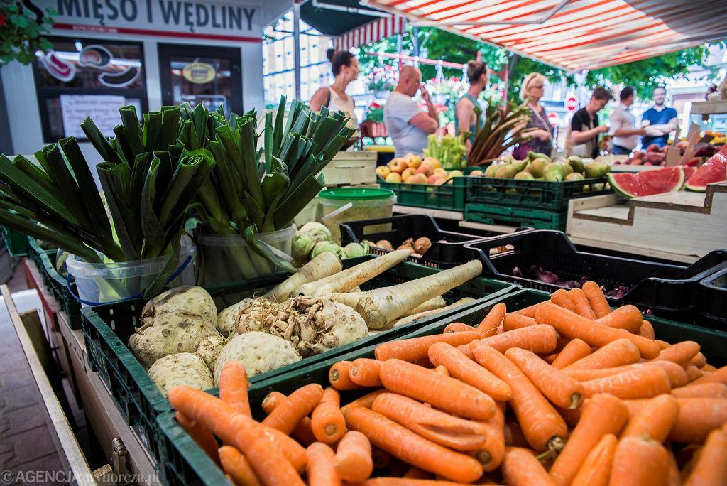 Ceny warzyw w górę