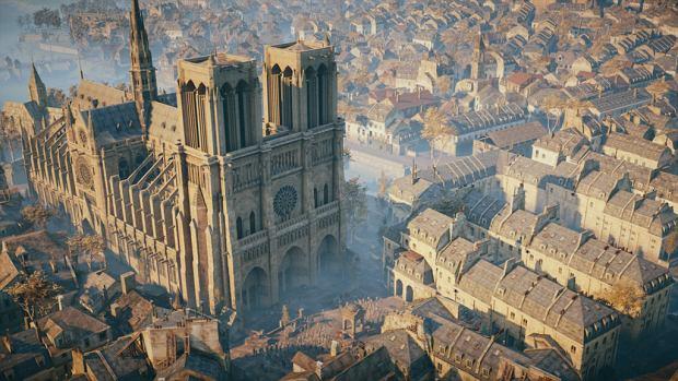 Katedra Notre-Dame w Paryżu - Assassin's Creed: Unity