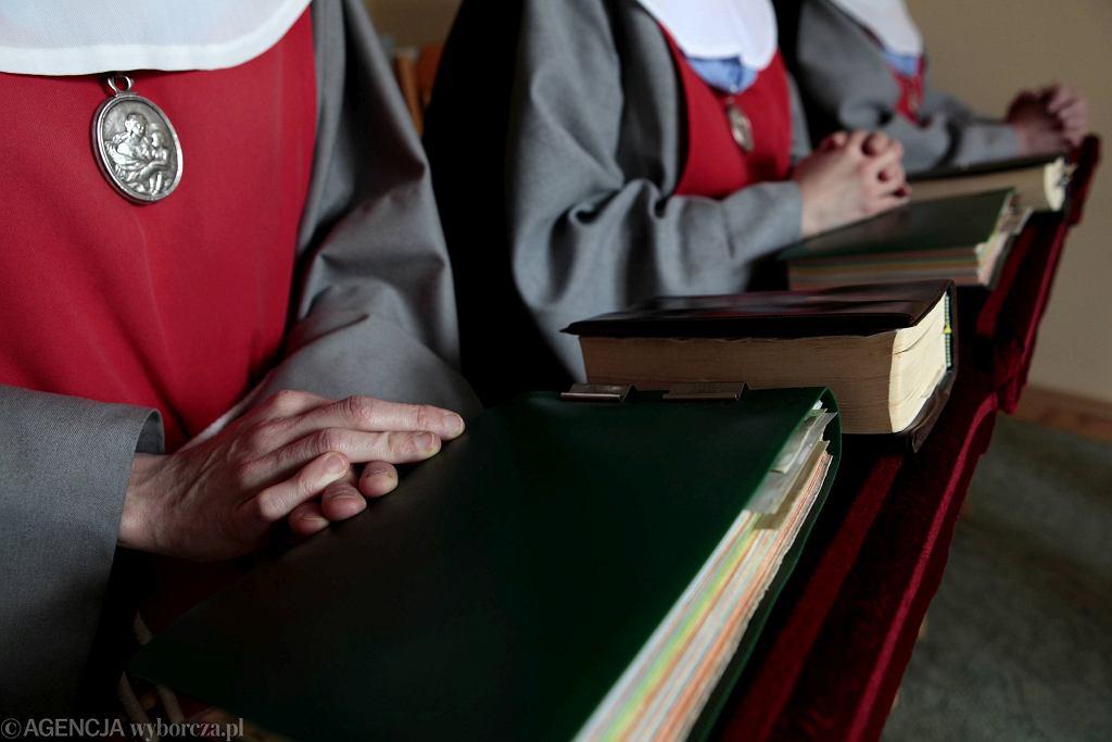 Siostry anuncjantki przeniosły się z Thiais pod Paryżem do Lichenia Starego w okolicy Konina na prośbę księży marianów (fot. Piotr Skórnicki / Agencja Gazeta)
