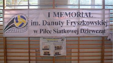 I Memoriał im. Danuty Fryszkowskiej - Radom hala PG nr 13