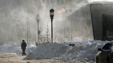 Boston po wielkiej burzy śnieżnej, 5 stycznia 2018