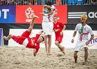 W Sopocie grali w piłkę nożną plażową