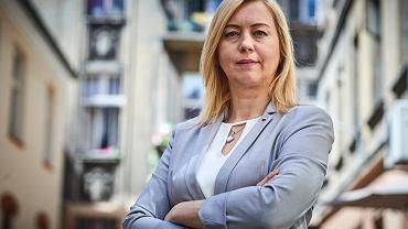 Hanna Gill-Piątek, posłanka Lewicy z okręgu łódzkiego