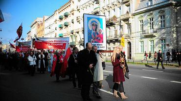 Krucjata Różańcowa pod Sejmem z okazji Święta Niepodległości