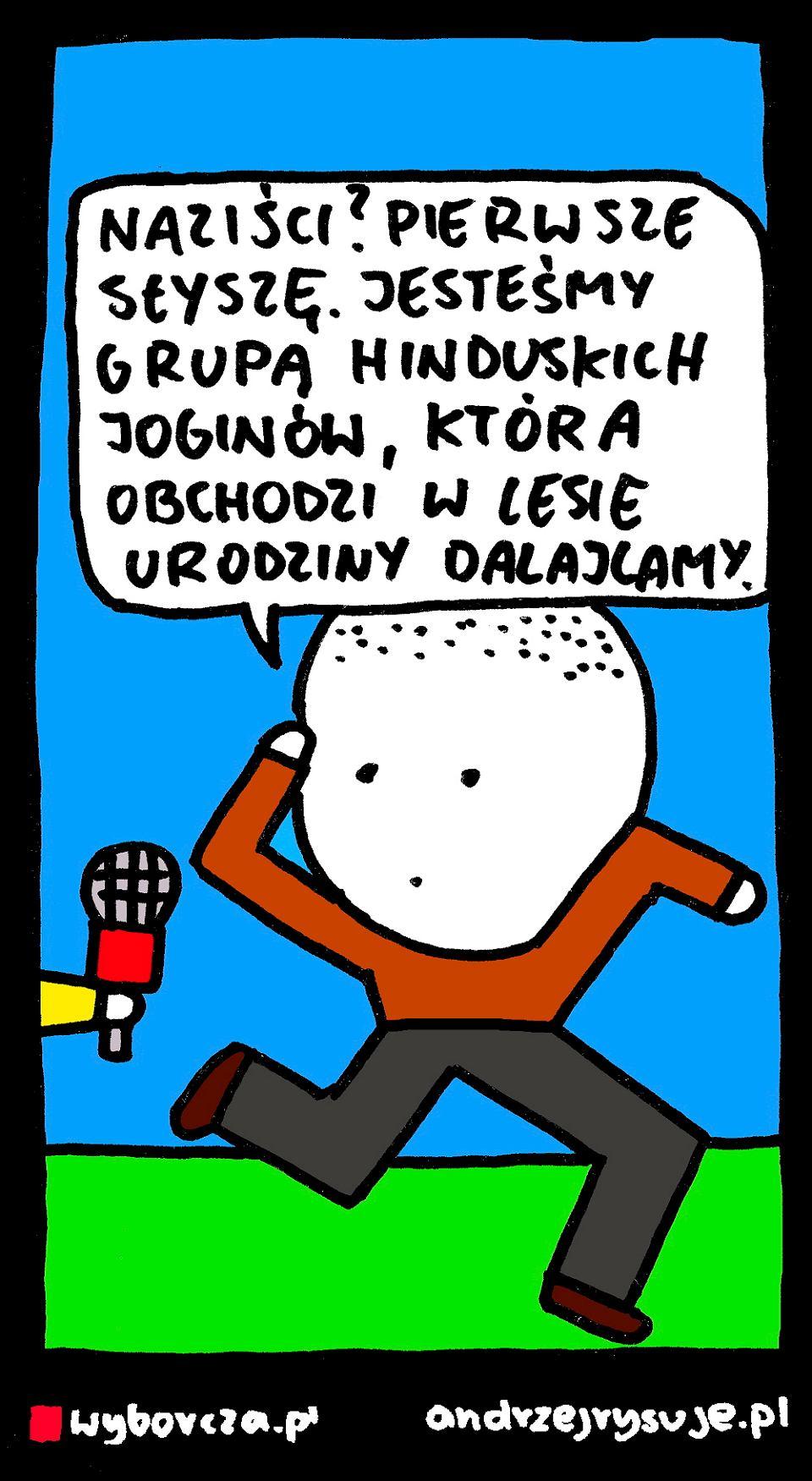 Andrzej Rysuje   HINDUSCY JOGINI - Andrzej Rysuje, 23.01.2018 - null