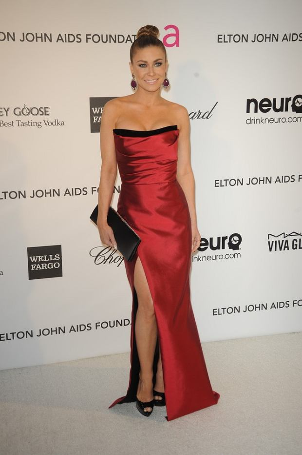 Celebrities attend the 21st Annual Elton John AIDS Foundation's Oscar Viewing Party in Los Angeles, California.  Pictured: Carmen Electra