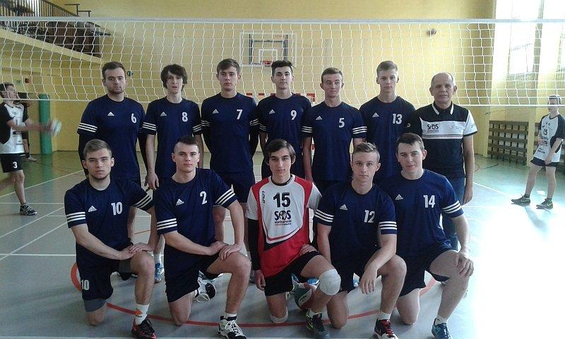 Siatkarze V LO w Radomiu, mistrzowie Radomskiej Olimpiady Młodzieży