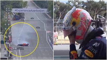 Dramat Maxa Verstappena w GP Azerbejdżanu