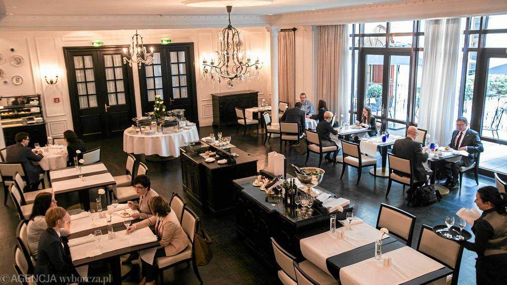 Restauracja Marconi w Hotelu Bristol / BARTOSZ BOBKOWSKI