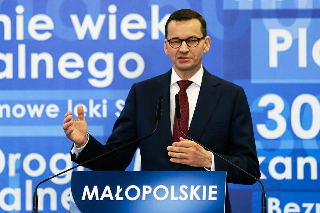 Konwencja PiS. Mateusz Morawiecki