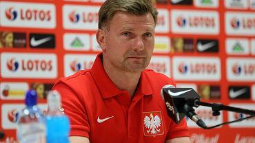 Asystent trenera kadry U-21 Andrzej Juskowiak