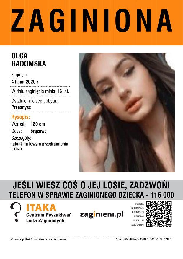 Zaginęła 17-letnia dziewczyna z Przasnysza