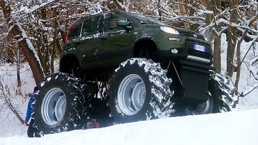 Fiat Panda 4x4 w wersji Monster Truck