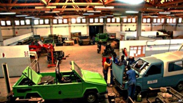 Fabryka Karenjy w mieście Fianarantsoa