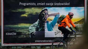 Plakat w Krakowie
