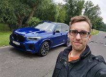 Opinie Moto.pl: BMW X5 M Competition nie ma sensu. A i tak od razu zrobiłem sobie selfie