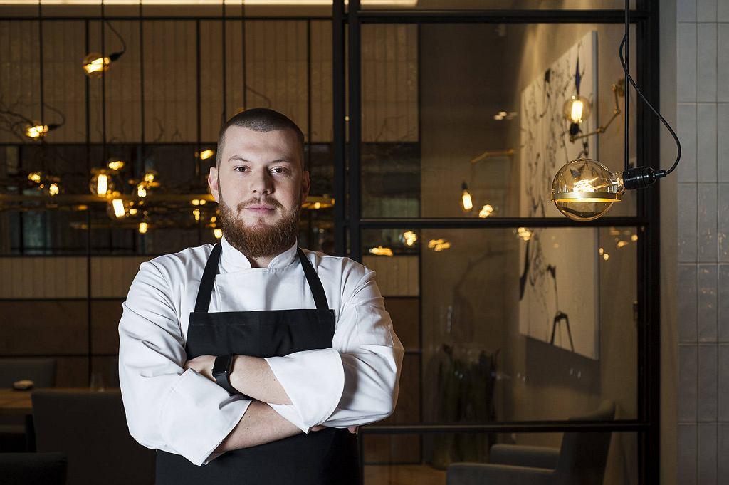 Paweł Chomentowski, szef kuchni restauracji White One / whiteone.pl