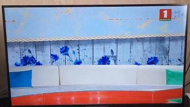 Puste studio telewizyjne na Białorusi