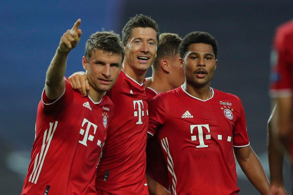Muller, Lewandowski i Gnabry po golu dla Bayernu